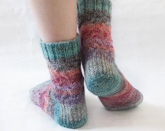 socks knitting socks hand knitting socks handmade