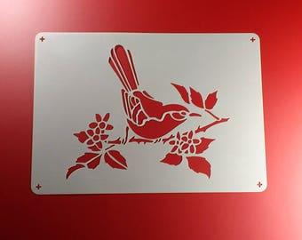 Template Bird Star Elster ast Songbird-BE54