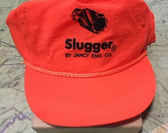 Your Dads Hats: Vintage Orange Slugger