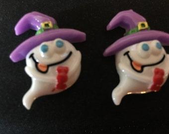 Halloween Ghost Stud Earrings   P39