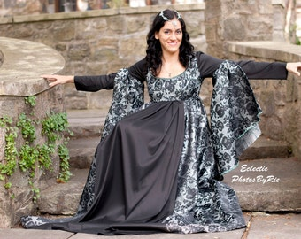 Brocade Renaissance, Into The Woods, Evil Witch Gown