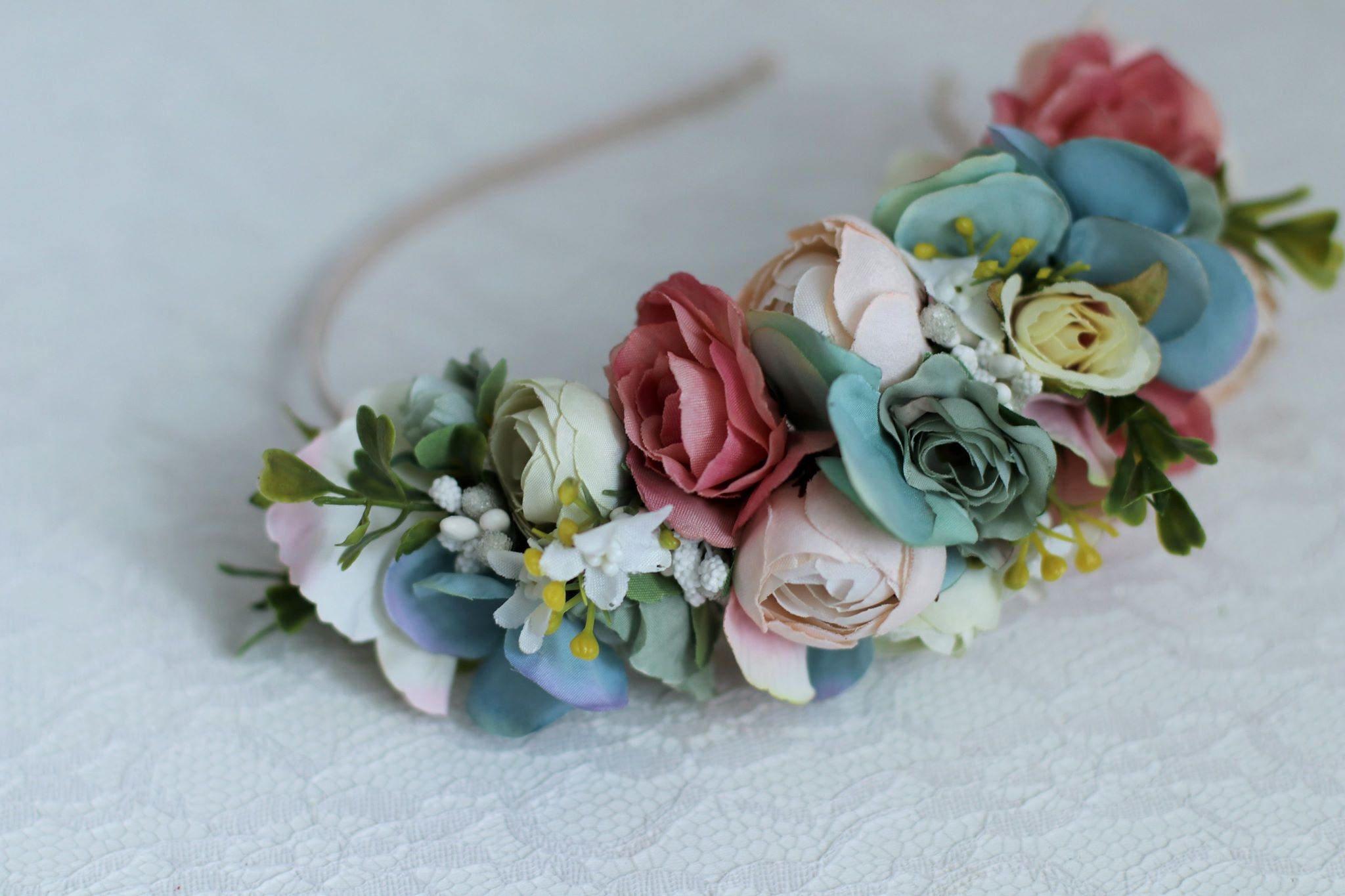 Summer flower crown spring flower crown wedding flower crown zoom izmirmasajfo