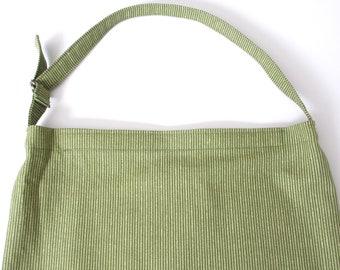 Catheter Bag Cover, 2000mL Drainage Bag Cover, Catheter Tubing Cover, Urine Bag Cover, Catheter Bag Holder, Catheter Case, GREEN STRIPES
