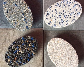Set of Four Stone Magnets