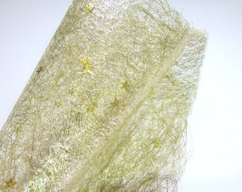 Gold Star Decorative Craft Paper - Sparkling - Scrap Booking - Xmas Craft