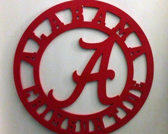 Alabama Crimson Tide Door Hanger