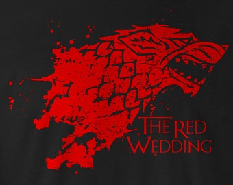 Game of Thrones Shirt, The Red Wedding Tee, Game of Thrones Stark Tee, Game of Thrones Stark T-Shirt, Game of Thrones Stark logo, Stark Tees