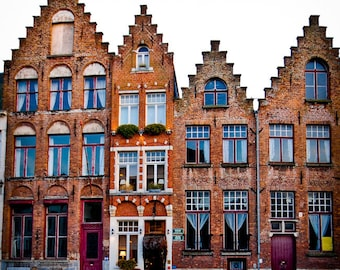 Brugge Belgium - Europe - Architecture - Building - Thin House