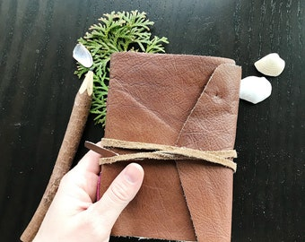 Leather Polaroid Instax photo album & travel journal