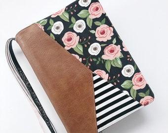 Fabric Bible Cover - Geometric - Bible Cover - Handmade