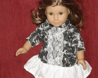 """Doll dress fits American Girl or any 18"""" doll"""