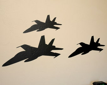 F-18 Formation - Wall Decals