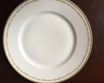 Haviland Limoges Dinner Plate France Pink Floral China
