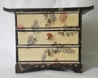 PSB-H02: Old 3 Stage Chest Drawers