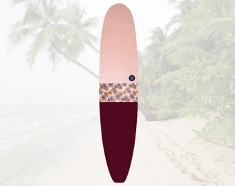 NEW IN   So Ron Burgundy   Surfboard Sock   Shortboard  Longboard   Tropics