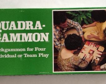 Vintage 1977 QUADRA-GAMMON Game