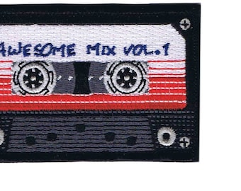 Cassette Awesome Mix Vol.1 Old School Patch