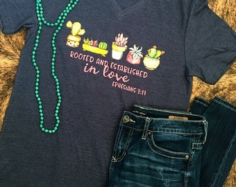 Rooted in Love Graphic Tee
