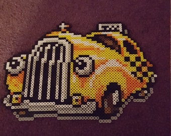 EarthBound Mad Taxi perler sprite