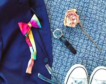 Silk Bow Tie - Jewel Tones