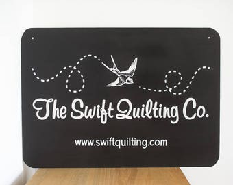 Logo Business Signs for Craft Fairs, Events or Advertising