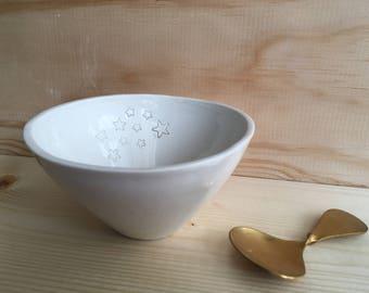 Bowl in porcelain