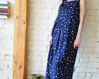 Cotton Maxi Dress for Women, Summer Maxi Dress, Oversize Dress, Long Dress, Party Dress, Sleeveless Dress, Wedding Dress, Casual Dress