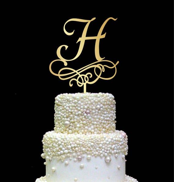 lettre h de gâteau gâteau rustique initiale de gâteau