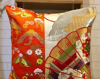 Upcycled Throw Pillow case 20X20inc
