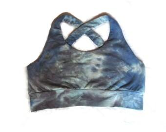 Organic Bra, Organic Yoga Bra, Tie Dyed Bra,  Organic Cotton Bra, Organic Sports Bra, Organic Tie Dyed Bra,  Custom Yoga Bra, Brazi