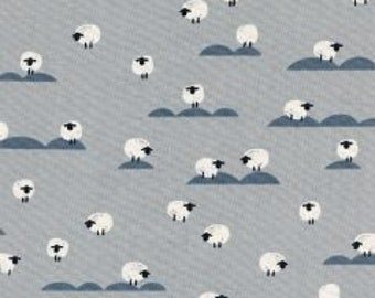 PANARAMA CLOUD Unbleached Cotton Fabric Collaboration from Cotton and Steel Sheep Newspaper