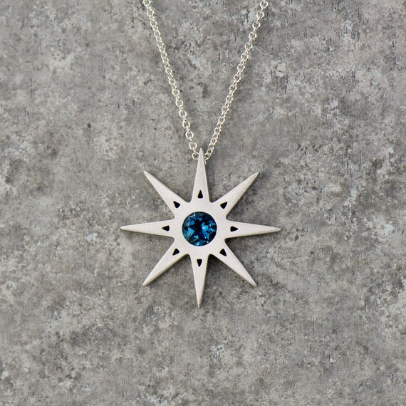 blue star buy women pendant for trendy necklace chain collection womanwa crystals dp alloy