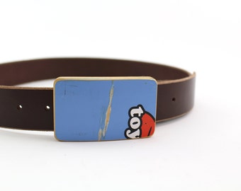 skateboarder gift, belt buckle, wooden buckle, cool gift, skater gift, skateboard, 5 year anniversary, leather belt, skateboarding gift,