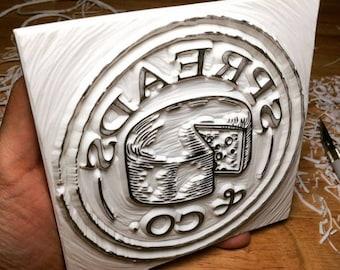 Business details, Business logo stamp, Product brand stamp, Address stamp, Hand carved rubber stamp