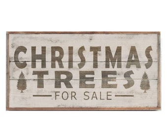 Christmas Trees for Sale Sign, Large Farmhouse Sign, Holiday Decor, Christmas Sign, Christmas Decoration,