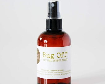 Bug Off! Natural Insect Spray