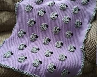 Baa Baa Blankie baby blanket