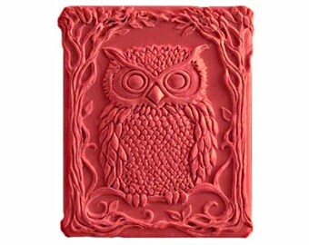 Owl Soap - Organic Soaps -  Bird Soaps - Decorative Gift Soap -  Natural Soaps - Glycerin Soap - Natural Soap  -  Essential Oil Peppermint