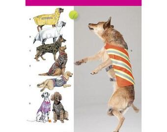 Simplicity Sewing Pattern 1578, Large Dog Coat, Large Dog T-shirt, Dog Clothes, Dog Backpack, Large Dog Vest, New Uncut Pattern