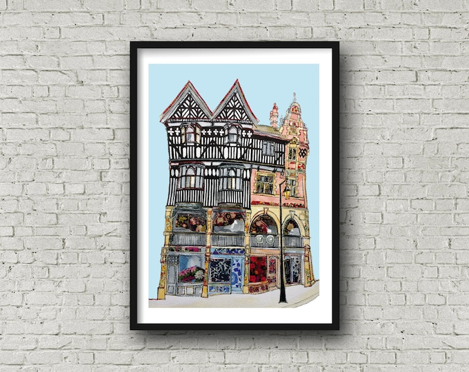 Featured listing image: The Rows, Chester - Daytime Print