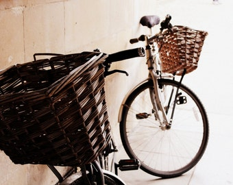 Bicycle Print - Cambridge Bikes Fine Art Photograph - Cycling Art Print - Gift for Cyclist - Bicycle Decor