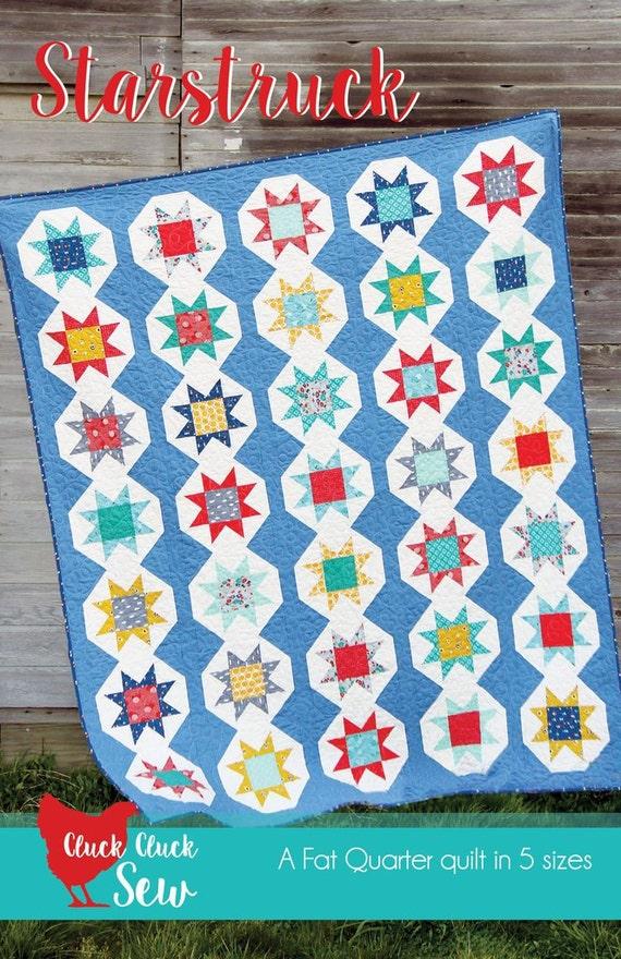 Starstruck Quilt-Muster von Cluck Cluck Nähen moderne