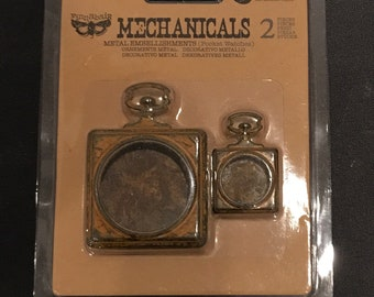 Prima Marketing Mechanicals Metal Embellishments - 963347 - Pocket Watches