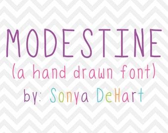 80% OFF SALE Hand Written Font, Downloadable Font, Handwriting Font, Font Download, Digital Font, Font, Sans Font, Silhouette Font