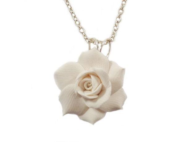 Attrayant Gardenia Necklace Gardenia Jewelry Gardenia Bridal Jewelry