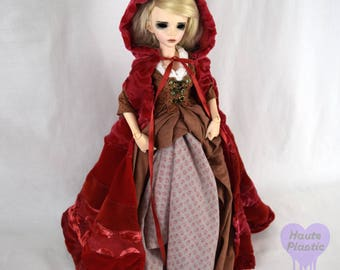 Do Not Purchase see announcementMinifee DOLL cloak Red Riding Hood Steampunk Ruby Once Upon A Time