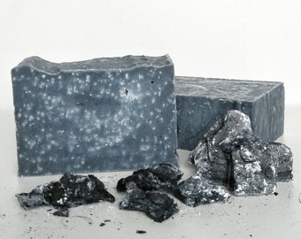 Handmade Charcoal and Sea salt Soap *VEGAN