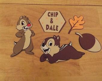 Chip and Dale die cut set