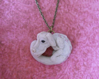 Falkor the luck dragon necklace