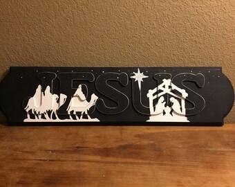 JESUS Nativity Scene